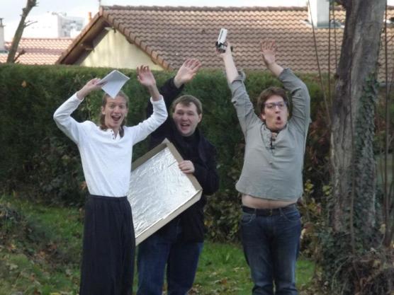 Trio de folle