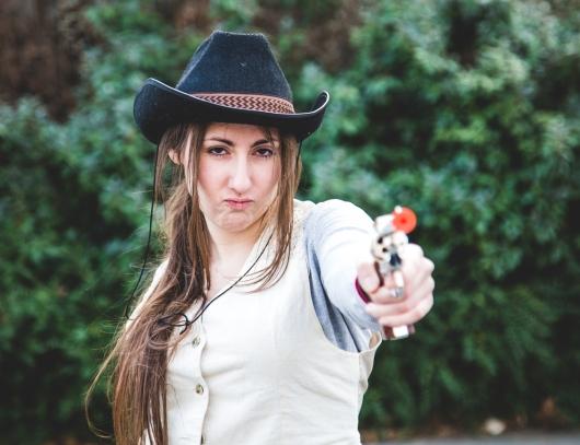 Fais gaffe, j'ai un gun